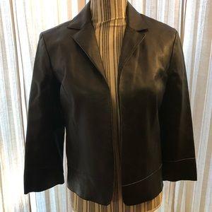Bisou Bisou Lambskin/Leather Jacket - Size 6